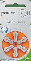 pilha para aparelho auditivo 13